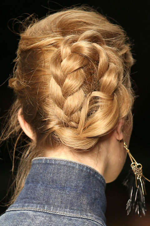Trends Hair Braid Styles: 2015 Fall / Winter 2016 Hair Trends