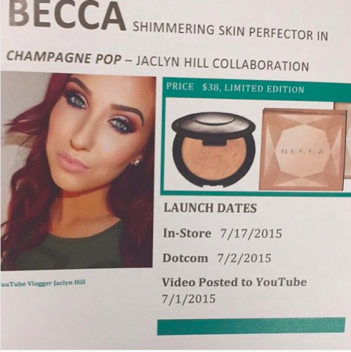 Becca x Jaclyn Hill Shimmering Skin Perfector Pressed - Champagne Pop 2