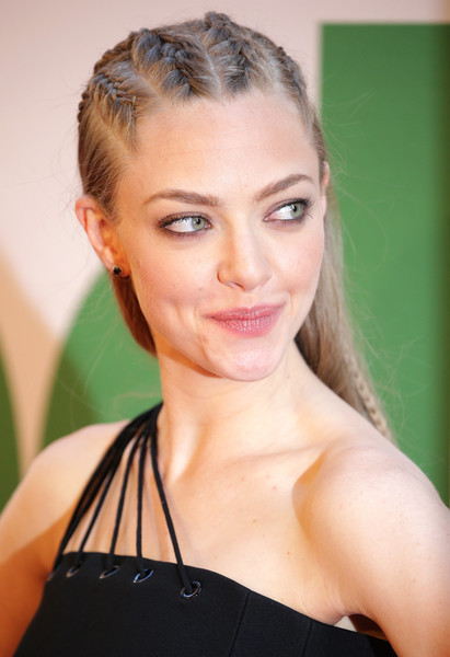 Celebrity Hairstyles - Amanda Seyfried Rocks Trendy Cornrows To Ted 2 Premiere 3