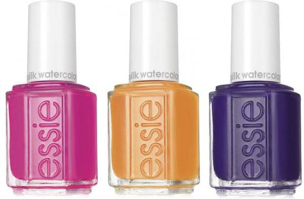 Essie Silk Watercolor Summer 2015 Nail Polish Collection