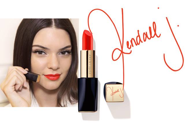 Estee Lauder Releases Kendall Jenner Lipstick Shade  3