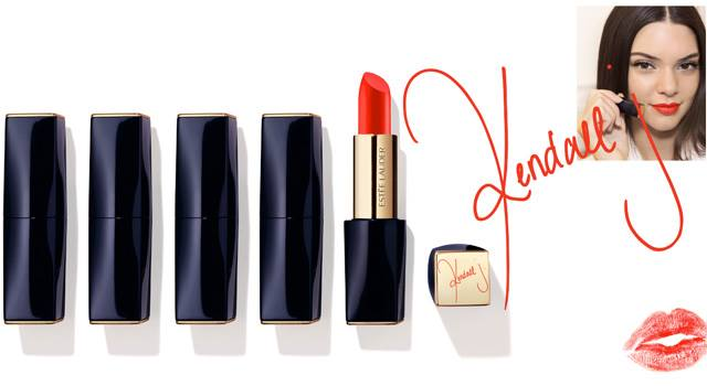Estee Lauder Releases Kendall Jenner Lipstick Shade