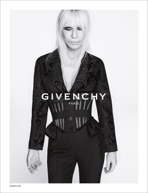 Givenchy Fall - Winter 2015 Ad Campaign Featuring Donatella Versace 2