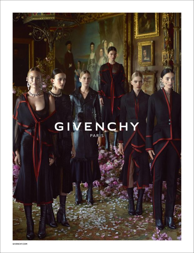Givenchy Fall - Winter 2015 Ad Campaign Featuring Donatella Versace 5