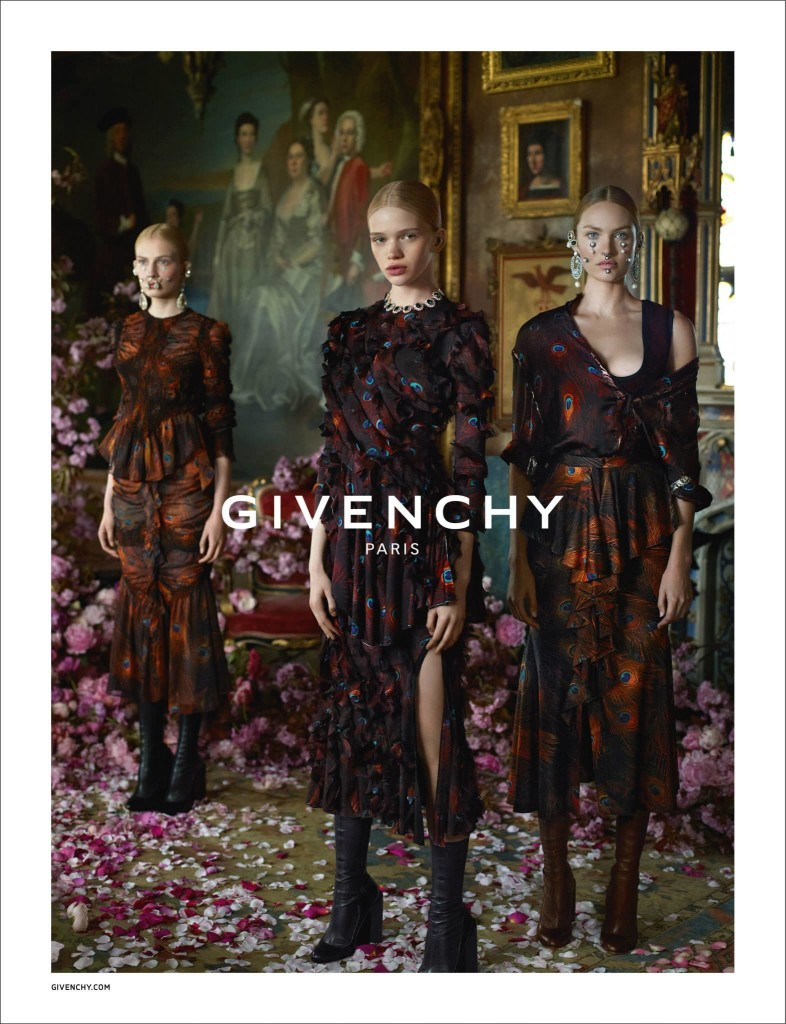 Givenchy Fall - Winter 2015 Ad Campaign Featuring Donatella Versace 6