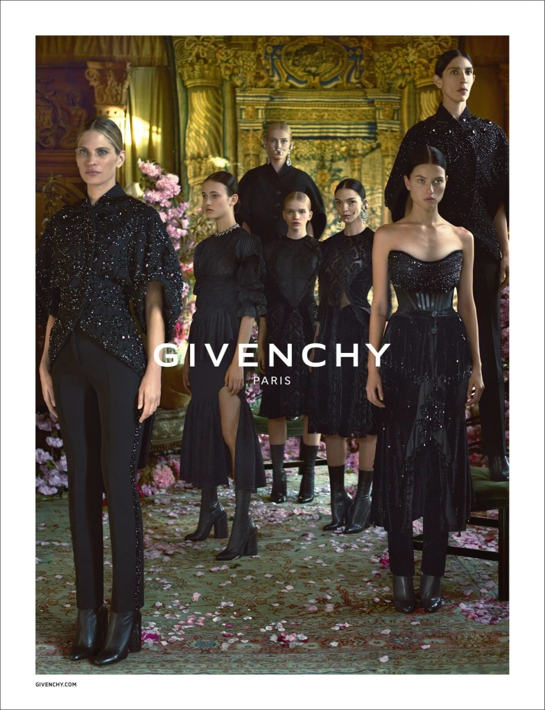 Givenchy Fall - Winter 2015 Ad Campaign Featuring Donatella Versace 7