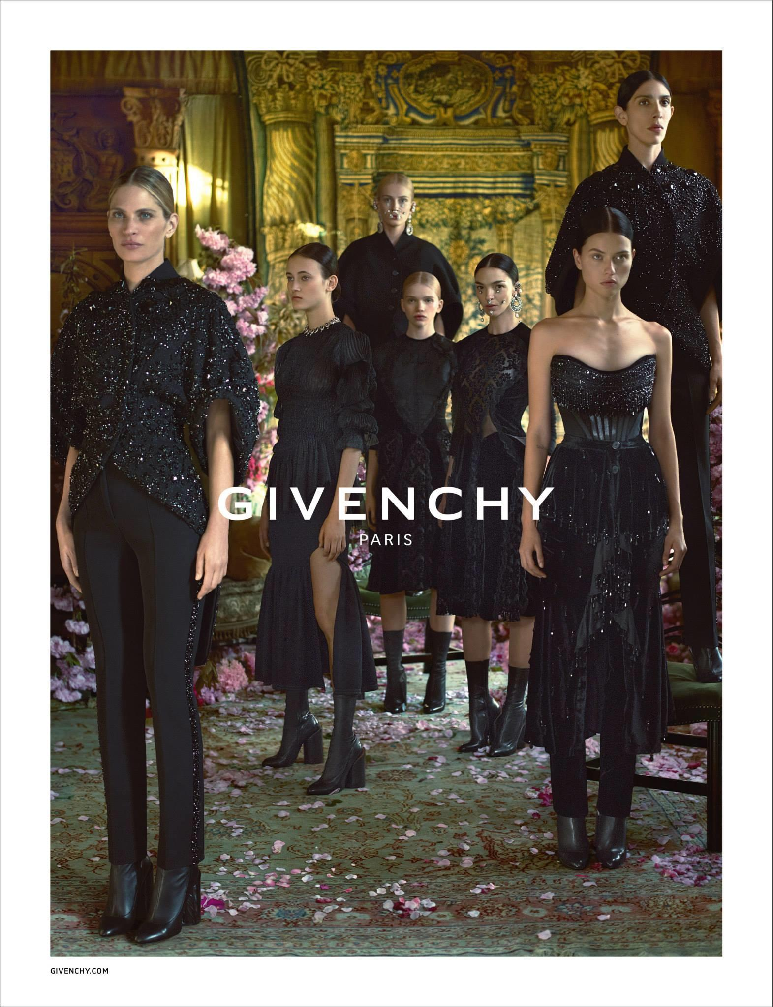 Givenchy Fall Winter 2015 Ad Campaign Featuring
