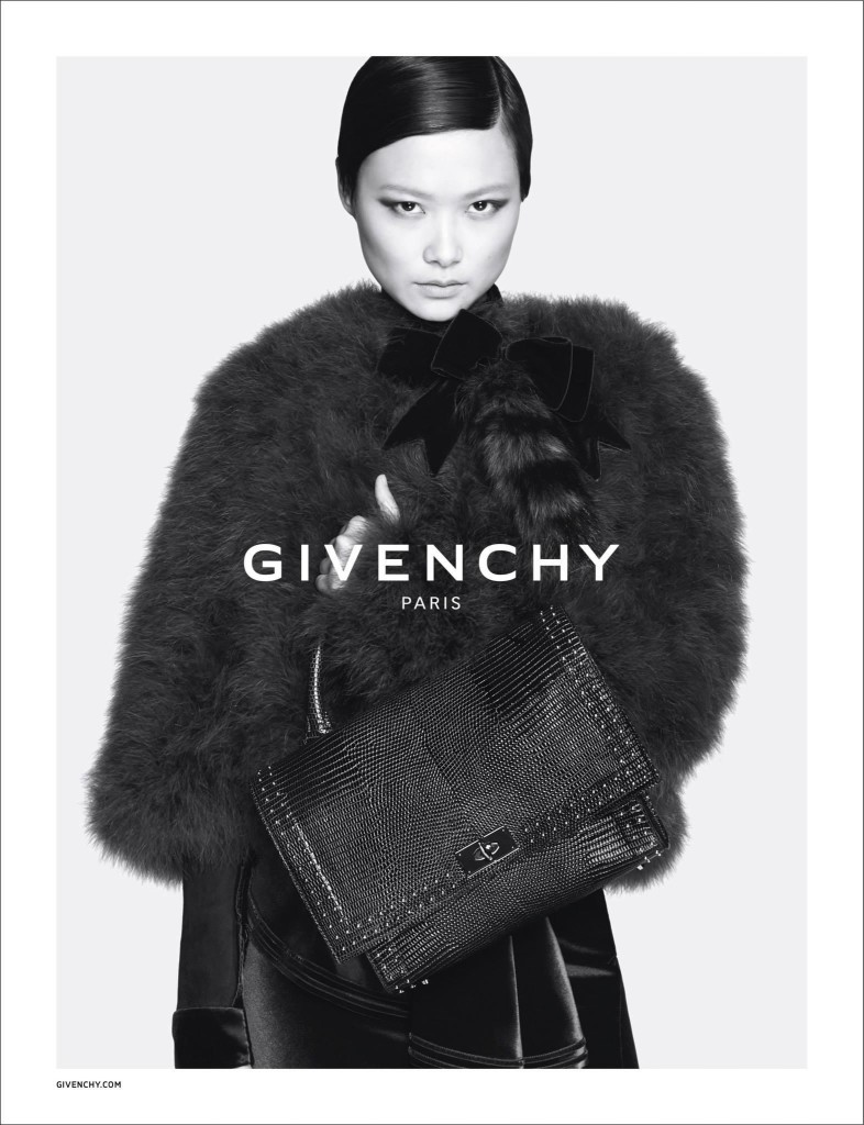 Givenchy Fall - Winter 2015 Ad Campaign Featuring Donatella Versace 8