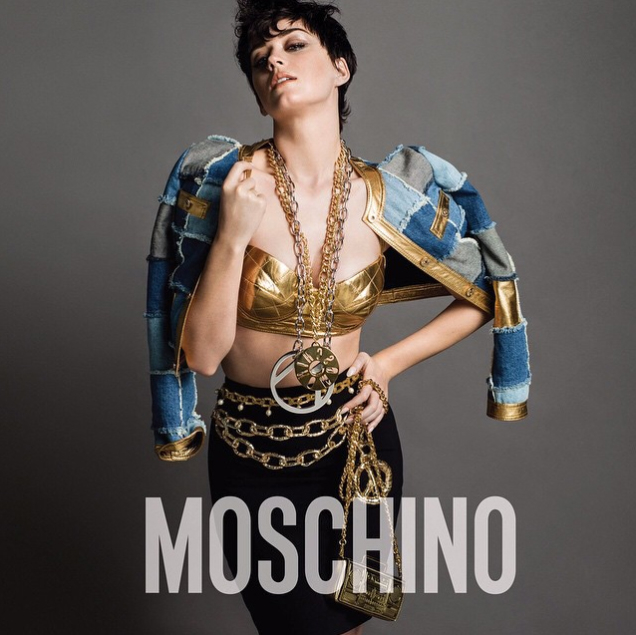 Katy Perry Looks Edgy In Moschino's Fall 2015 AD Campaign