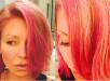 Kelly Ripa Turns Blonde Bob Pink, See Her New Hair Color 2