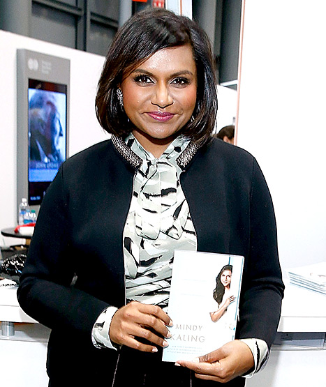 Mindy Kaling Gets Chic Bob Haircut