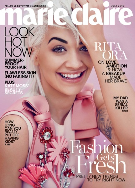 Rita Ora for Marie Claire Magazine July 2015