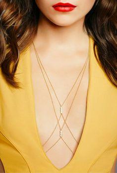 Style Inspiration - Body Jewelry Trend