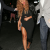 Beyonce Shows Off Her Steams In Black Asymmetrical Dress