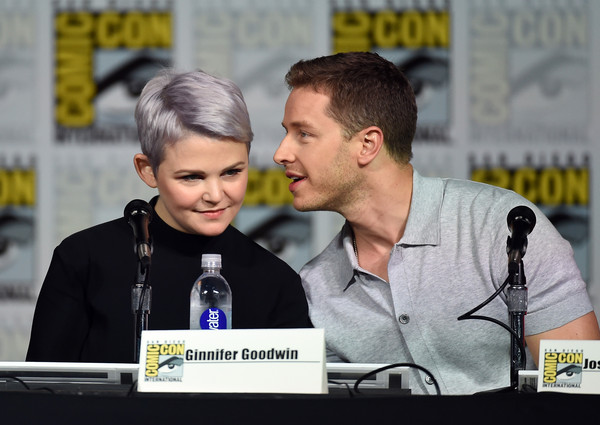 Ginnifer Goodwin Tries Out Lavender - Silver Hair Trend 4