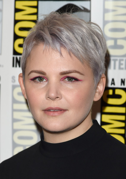 Ginnifer Goodwin Tries Out Lavender - Silver Hair Trend