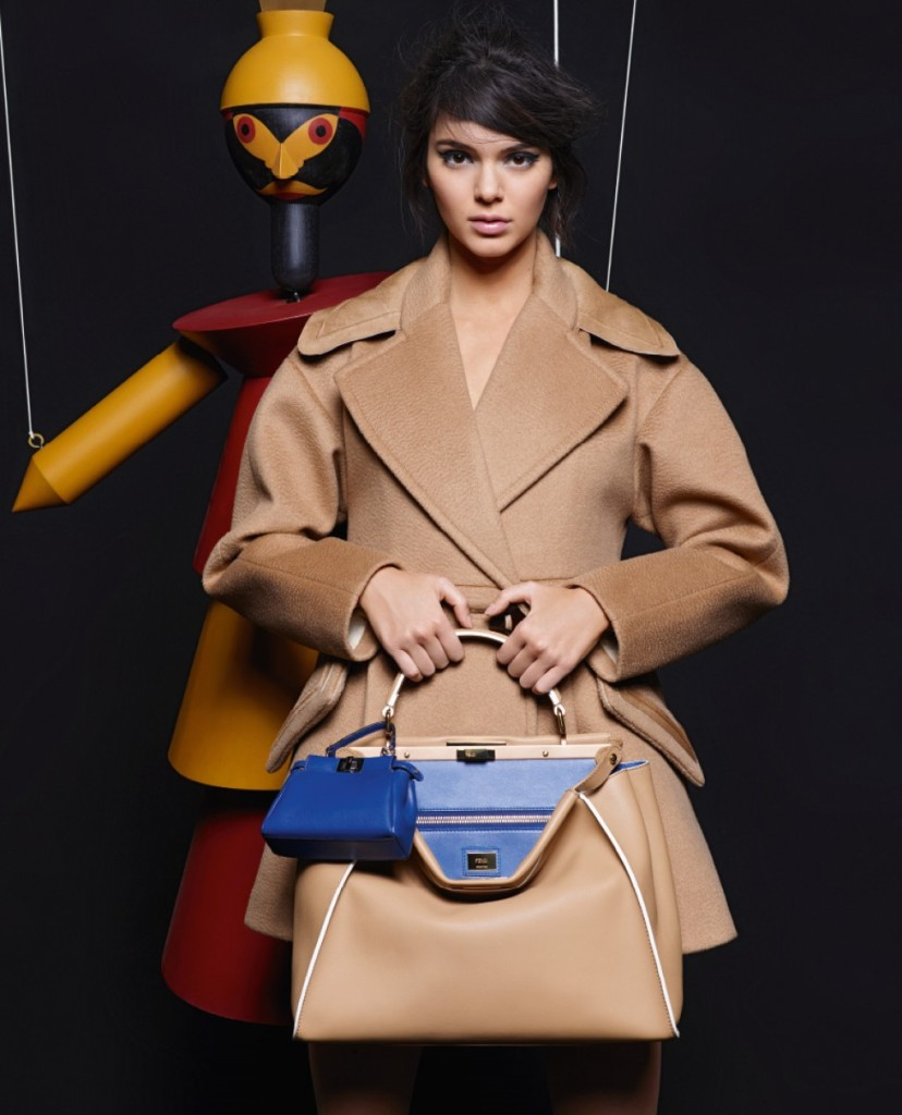 Kendall Jenner & Lily Donaldson For Fendi Fall-Winter 2015 Ad Campaign 3