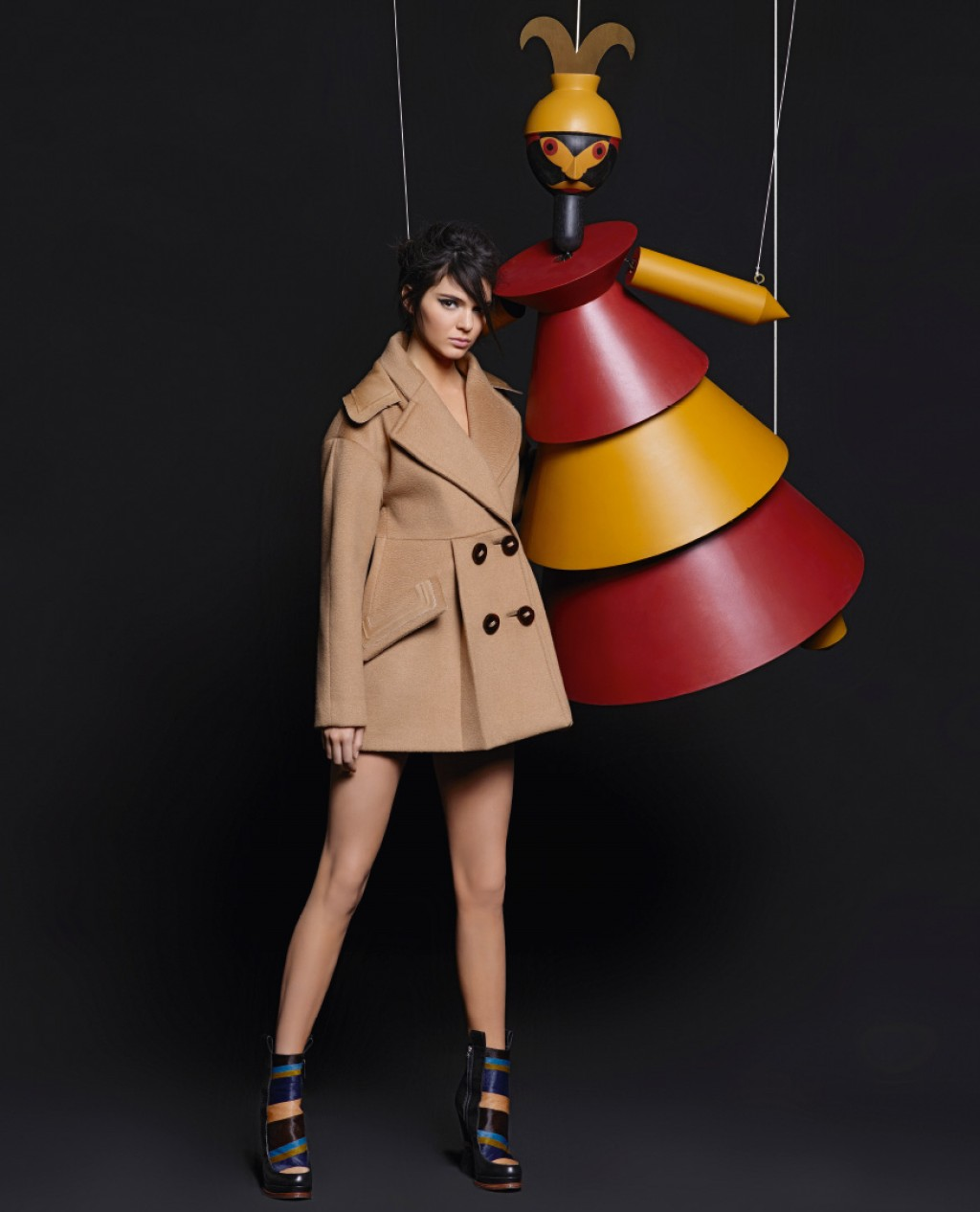0ca2ab07a40c Kendall Jenner   Lily Donaldson For Fendi Fall-Winter 2015 Ad Campaign 4