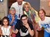 Britney Spears Debuts Blue-Purple Rainbow Colored Hair