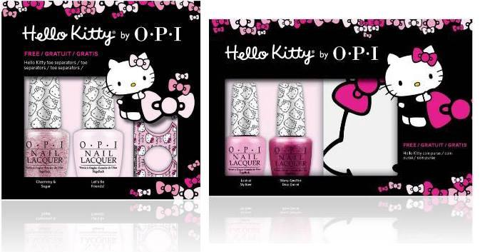 Hello Kitty by OPI Nail Polish Collection 2016 3