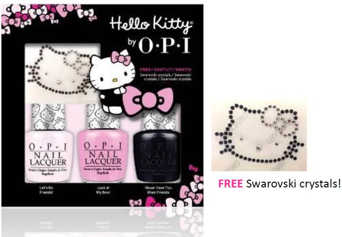 Hello Kitty by OPI Nail Polish Collection 2016 4