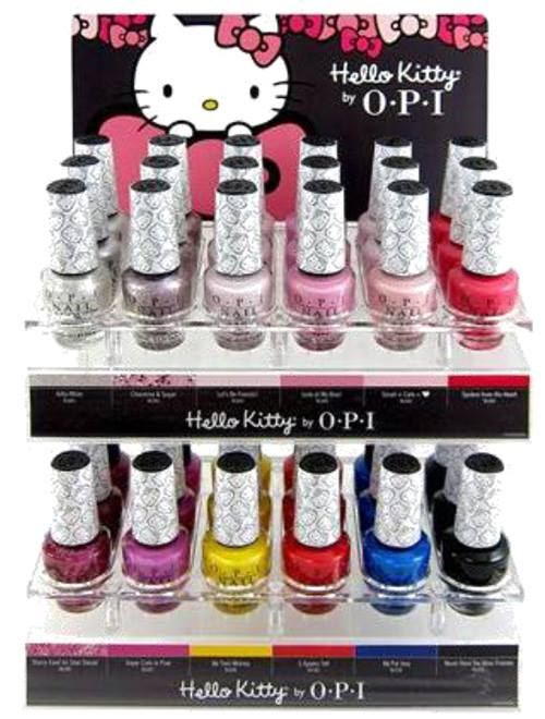Hello Kitty by OPI Nail Polish Collection 2016