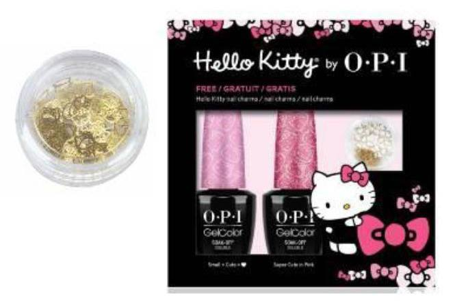 OPI Hello Kitty GelColor 2016 Nail Polish Collection 3