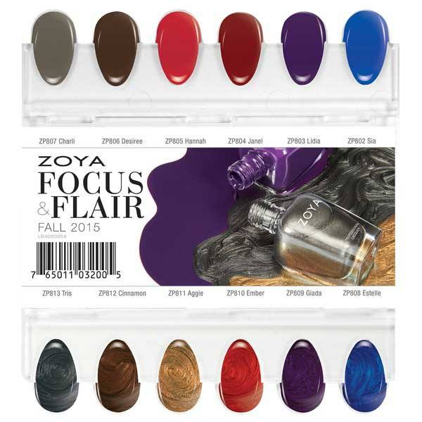 Zoya Focus and Flair Fall 2015 Nail Polish Collection 4