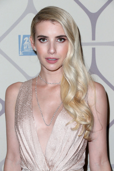 2015 Primetime Emmy Awards Makeup How To  Emma Roberts 3