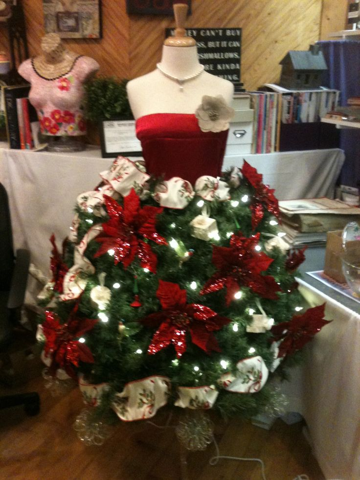 2015 2016 christmas tree dress form ideas 22 - Christmas Tree Dress