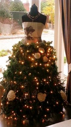 25 Christmas Tree Dress Form Ideas For Your Inner
