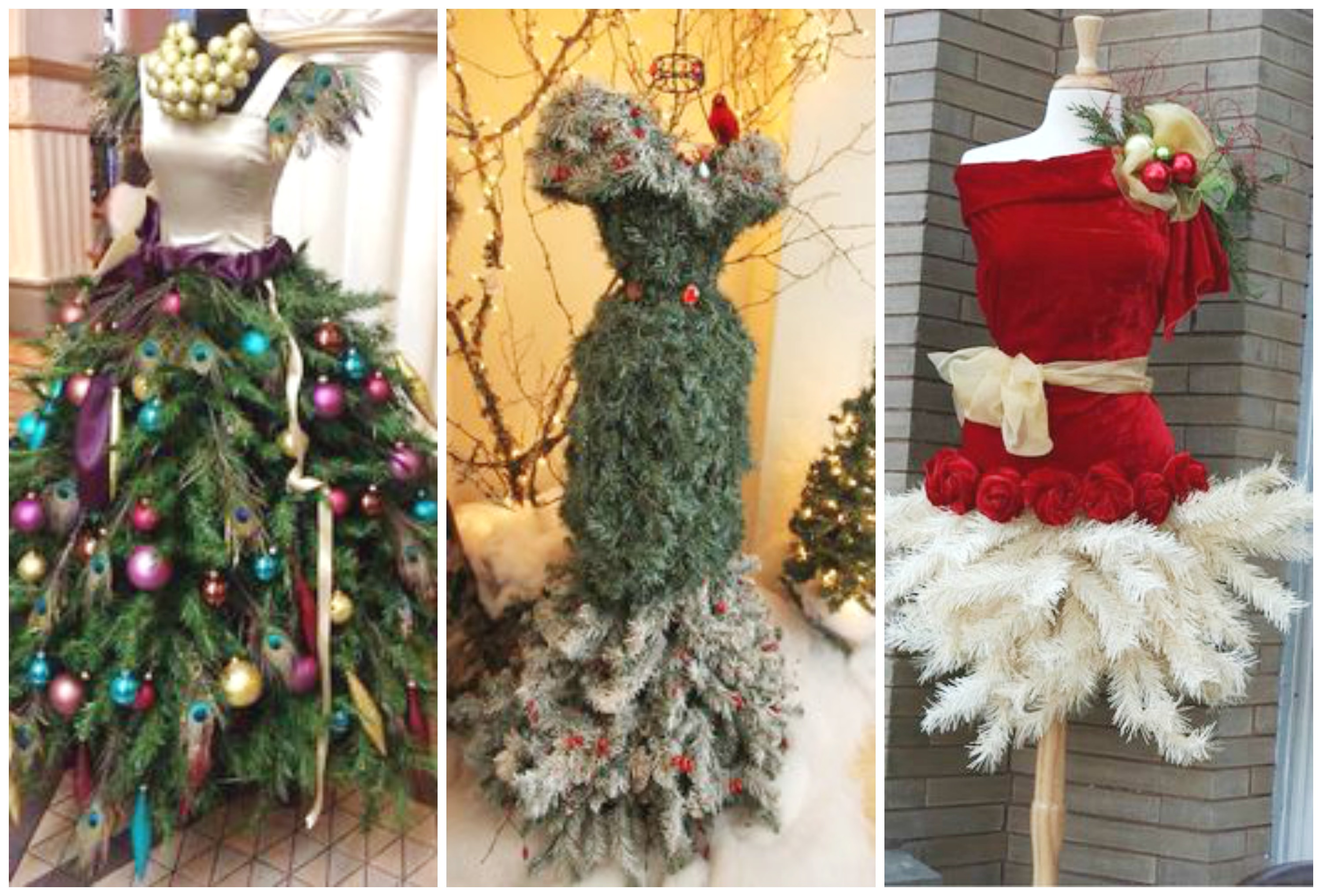 25 christmas tree dress form ideas for your inner for Xmas decoration ideas 2016