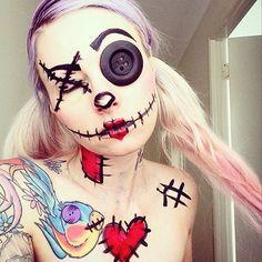 2015 Halloween Makeup Ideas 10