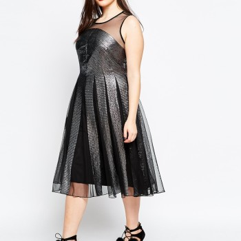 2016 New Years Eve Dresses For Plus Size Women 11