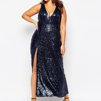 2016 New Years Eve Dresses For Plus Size Women 13