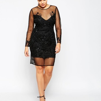 2016 New Years Eve Dresses For Plus Size Women 14