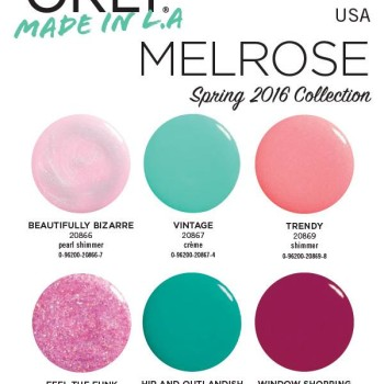 Orly Melrose Spring 2016 Nail Polish Collection 2