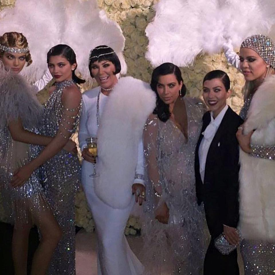 pics from Kris Jenner's Gatsby-Themed Birthday Bash 5