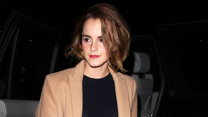 Emma Watson Debuts New Shorter Mane