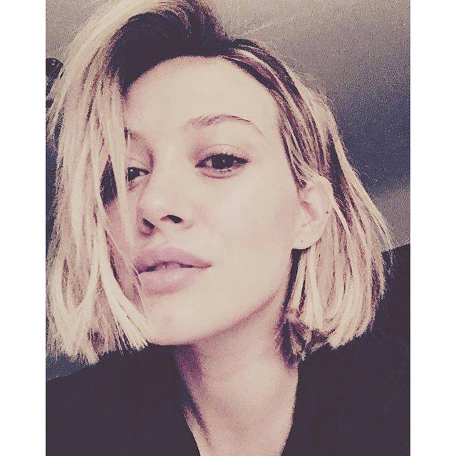 Hilary Duff Chops Off Her Mane With New Bob Haircut