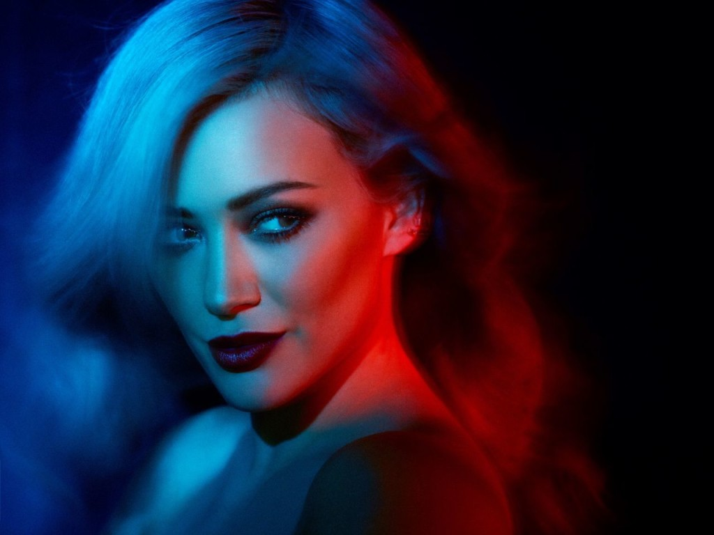 Hilary Duff Shows Off Her Rainbow Dyed Hair In 'Breathe In Breathe Out' Album Promoshoot 5