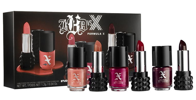 Kat Von D x Formula X Collection for Holiday 2015 7