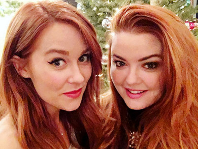 Lauren Conrad Tries Out New Bold Red Hair Color