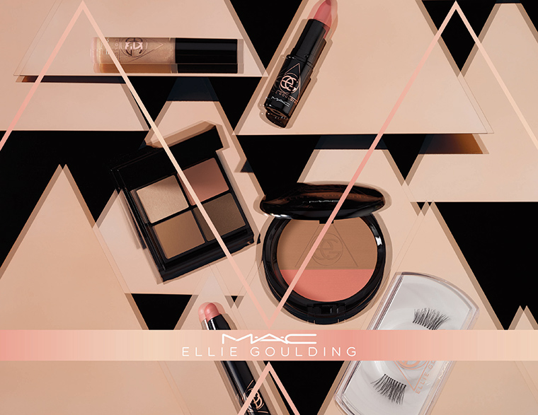 MAC x Ellie Goulding Collection for December 2015 - Full Collection Details 2