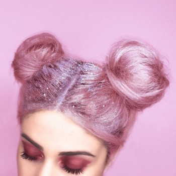 2016 Hair Trend - Glitter Roots 5