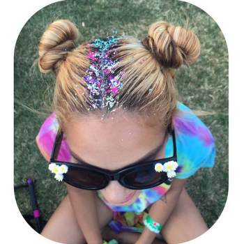 2016 Hair Trend - Glitter Roots 7