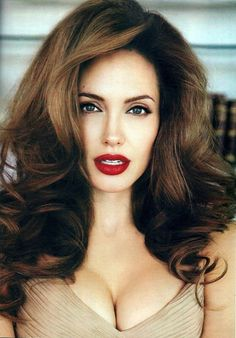 The hair looks pretty famous actress Angelina Jolie.