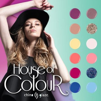 China Glaze House of Colour Spring 2016 Nail Polish Collection