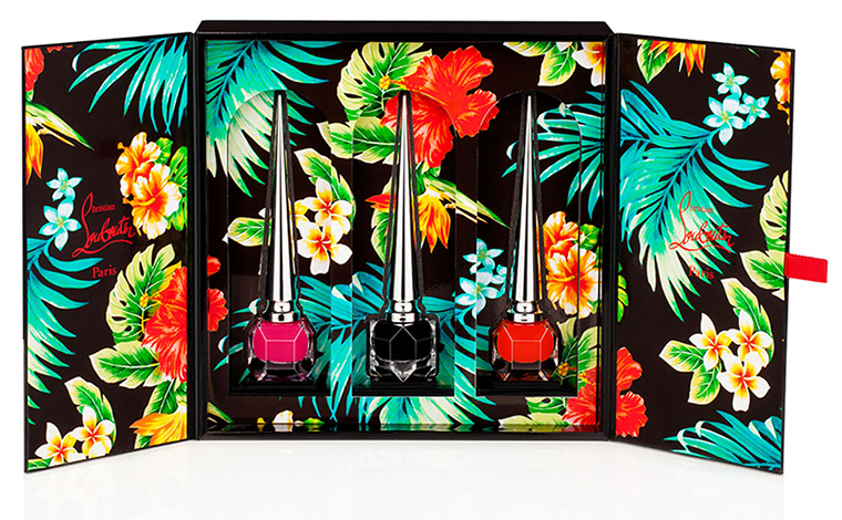 Christian Louboutin Beaute Hawaii Kawaii Collection for Spring 2016 2