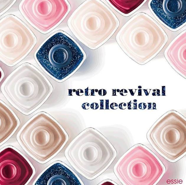 Essie Retro Revival Spring 2016 Nail Polish Collection